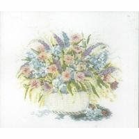 Panier de fleurs  70-7008  Permin of copenhagen