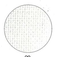 Toile Aïda 7.2 ivoire - Permin of Copenhagen - Code 359-22