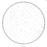 Toile Aïda 6.4 blanche - Permin of Copenhagen - Code 355-00