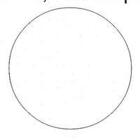 Toile Aïda 5.4 blanche - Permin of Copenhagen - Code 357-00