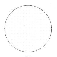 Toile Aïda 5.4 ivoire - Permin of Copenhagen - Code 357-22