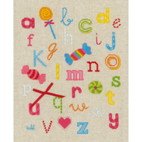 ABC avec bonbons - Vervaco  0150883