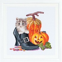 Halloween Kitten  738A  Thea Gouverneur