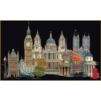 Londres - Kit aïda noire - Thea Gouverneur 470-05