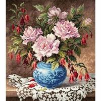 Roses et Fuchsia  40-75  Chudo Igla