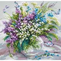 Bouquet de printemps  40-70  Chudo Igla