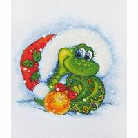 Serpent de Noël  D042  LanSvit