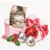 Christmas kitten  731A  Thea Gouverneur