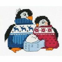Famille de pingouin  HB128  Riolis