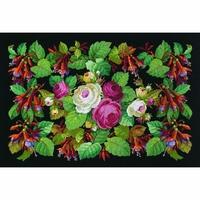 Fuchsias et roses  70-0414  Permin