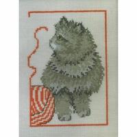 Chaton et pelote de laine - Permin 92-0144