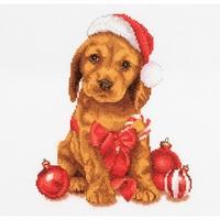 Christmas Puppy  730A  Thea Gouverneur
