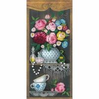 Vase de roses  0079PT  Riolis