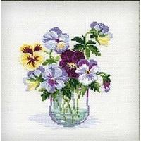 Bouquet de Pensées  835  Riolis