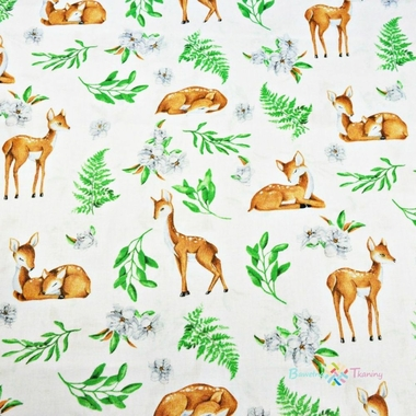 cotton-deer-with-leaves-on-a-white-background