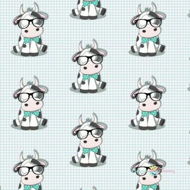 cotton-cow-with-a-mint-bow-tie-on-a-white-mint-checkered