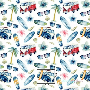 cotton-holiday-cars-on-white-background