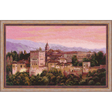Kit broderie Riolis 1459 Alhambra en vente sur www.la-brodeuse.com