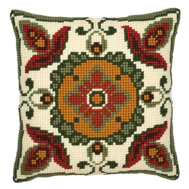 Coussin point de croix Motifs géométriques - Vervaco PN-0008525 sur www.la-brodeuse.com