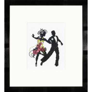 Dance Couple - Lanarte PN-0008196 - Kit broderie point de croix sur www.la-brodeuse.com