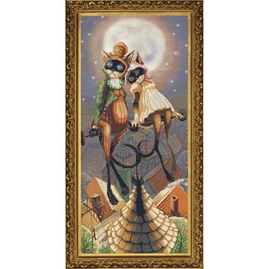 I'll give you... Nova Sloboda CP6071 - Kit broderie point de croix en vente sur www.la-brodeuse.com