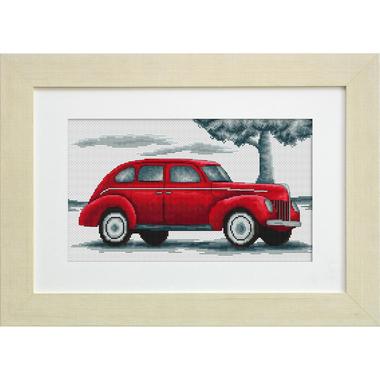 Auto r tro iii b2237 kits broderie par marque luca s for Garage autodemarque croix