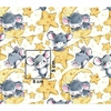 Tissu souris grise  00022