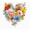 Cœur de fleurs 0179766 Vervaco