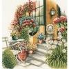 Terrasse en fleurs  0008016  Lanarte