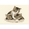 Trois petits chatons  0148985  Vervaco
