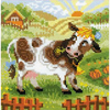 La Ferme - La vache - Riolis 1522