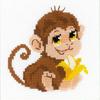 Petit singe  HB161  RIOLIS