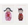 Thea Gouverneur  547  Kokeshi Dolls