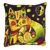 Riolis  1092  Coussin  The Moonlit Road