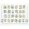 Thea Gouverneur  2089  Floral Alphabet
