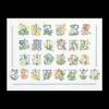 Thea Gouverneur  2089A  Floral Alphabet  Aïda