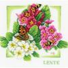 Papillon et fleurs  0162302  Lanarte