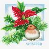Oiseau en Hiver  0162305  LANARTE