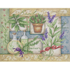 COLLAGE HERBES  DIMENSIONS  70-03241