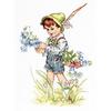 Le petit garçon et les campanules  B1105  LUCA-S