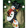 Bonhommes de neige  72-08176  Dimensions