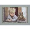 Enfant avec son chat 30410  KRASA