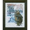Hibou dans la neige - Permin 70-9317 - Kit Lin
