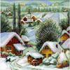 Village serbe  1670  RIOLIS