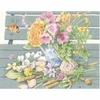 Fleurs sur le banc  0147504  Lanarte