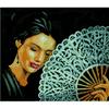 Woman With a Fan  0154330  Lanarte
