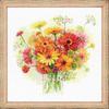 Gerberas multicolores - Riolis 1485