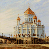 Moscou la cathédrale du christ  1371  RIOLIS