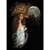 Femme dans la nuit  1032  RIOLIS