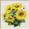 Fleurs de tournesols  776  RIOLIS